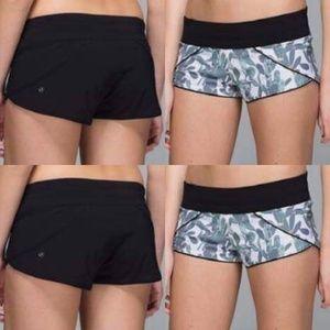 Lululemon Water Surf shorts reversible size 4